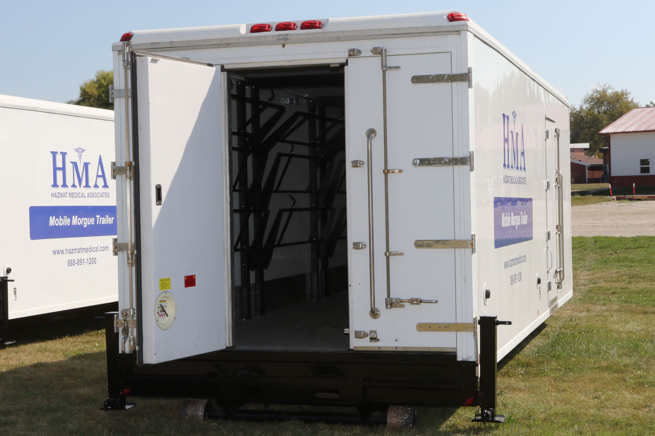 Mobile Morgue Trailer - MED Alliance Group, Inc