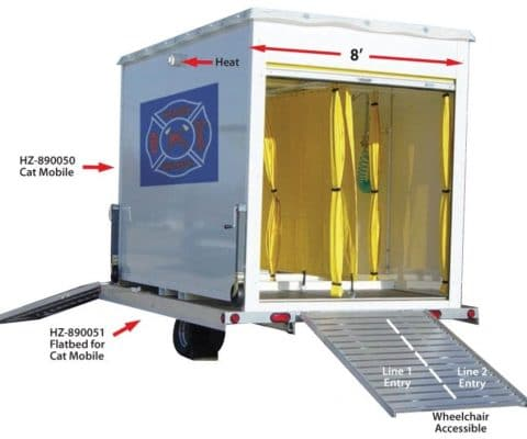 Decontamination Trailer by MED Alliance