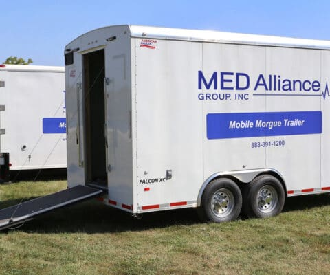 Morgue Trailer by MED Alliance