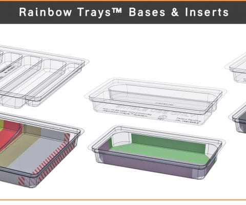 Rainbow Trays ™ by Uvamed ®