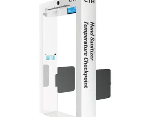 HandyCTH Temperature Checkpoint and Hand Sanitizer