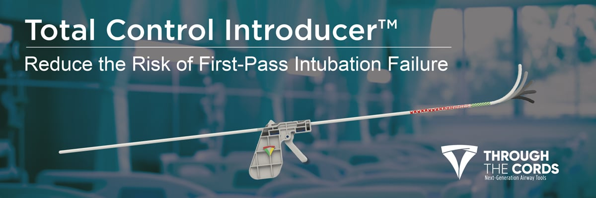 total control introducer first pass intubation