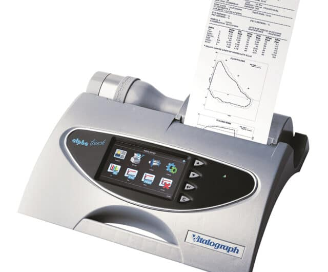 The ALPHA Touch Spirometer by Vitalograph®