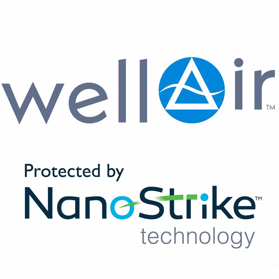 WellAir and NanoStrike logos